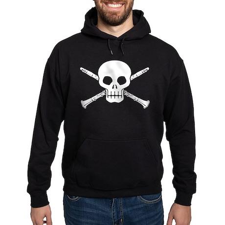 Clarinet Skull Hoodie (dark)