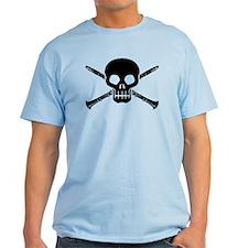 Clarinet Skull T-Shirt