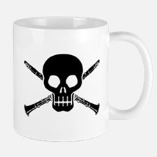 Clarinet Skull Mug