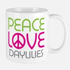 Peace Love Daylilies Mug