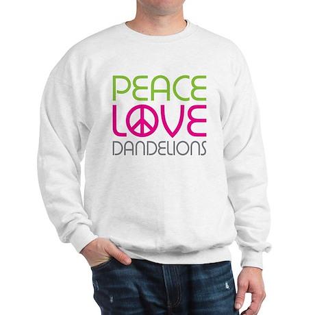 Peace Love Dandelions Sweatshirt