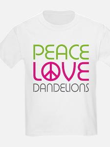 Peace Love Dandelions T-Shirt