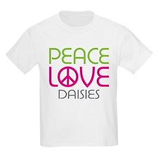 Peace Love Daisies T-Shirt