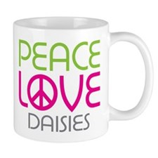 Peace Love Daisies Mug