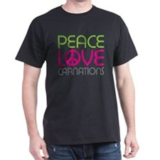 Peace Love Carnations T-Shirt
