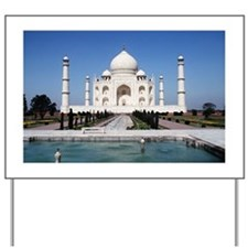 Taj Mahal India Yard Sign
