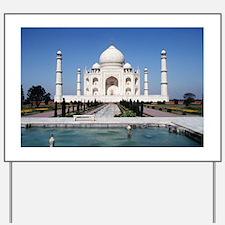 Taj Mahal India Yard Sign