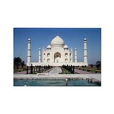 Taj Mahal India Rectangle Magnet