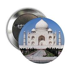 """Taj Mahal India 2.25"""" Button"""