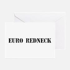 Euro Redneck Greeting Cards (Pk of 10)