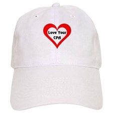 Love Your CPA Baseball Cap