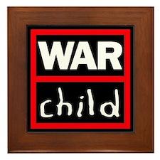 Warchild UK Charity Framed Tile