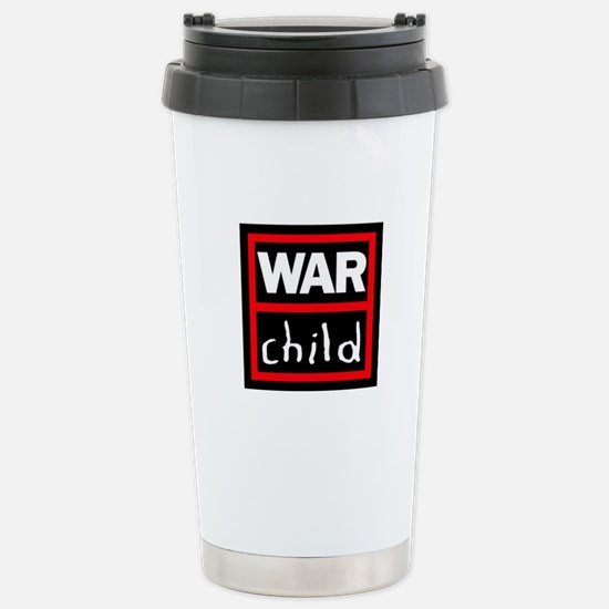 Warchild UK Charity Stainless Steel Travel Mug