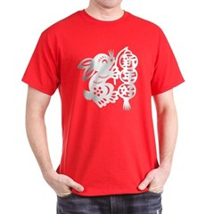 Chinese New Year Rabbit Paper Cut T-Shirt