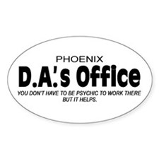 'D.A.'s Office' Decal