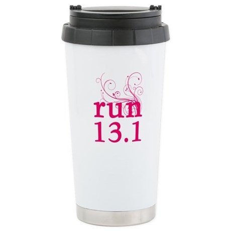 run 13.1 Stainless Steel Travel Mug