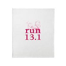 run 13.1 Throw Blanket