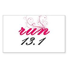 run 13.1 Decal