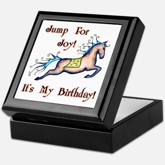 Joy Birthday Horse Keepsake Box