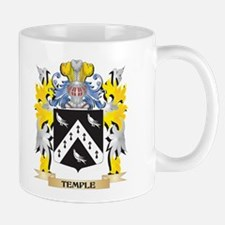 Temple Family Crest - Coat of Arms Mugs
