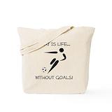 Best soccer coach Canvas Bags