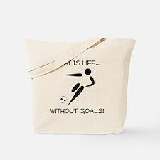 Soccer...Goals! Tote Bag