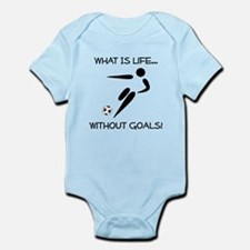 Soccer...Goals! Infant Bodysuit