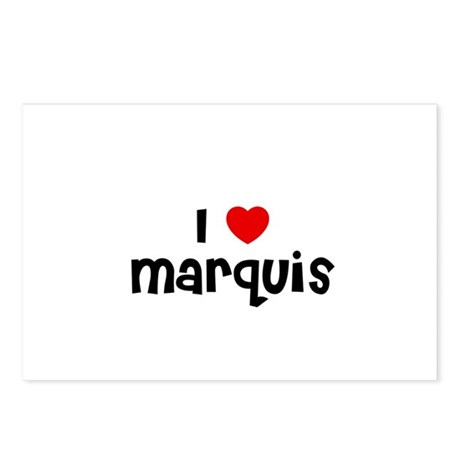 I * Marquis Postcards (Package of 8)