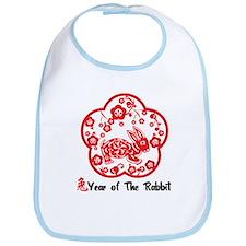 Year of The Rabbit Bib
