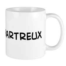 I Love My Chartreux Small Mug