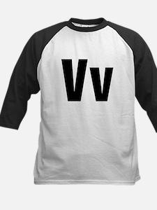 V Helvetica Alphabet Tee