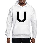 U Helvetica Alphabet Hooded Sweatshirt