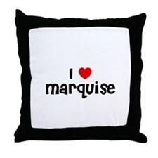 I * Marquise Throw Pillow