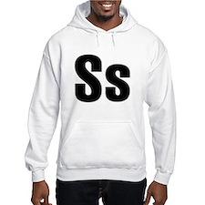 S Helvetica Alphabet Hoodie