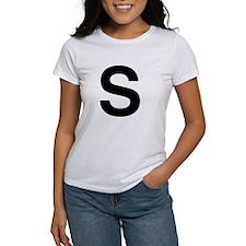 S Helvetica Alphabet Tee