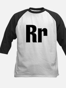 R Helvetica Alphabet Tee