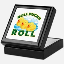 Roll Ducks Roll Keepsake Box