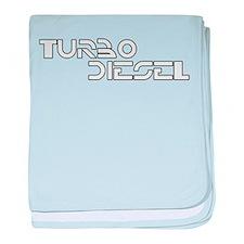 Turbo Diesel - baby blanket