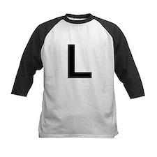 L Helvetica Alphabet Tee