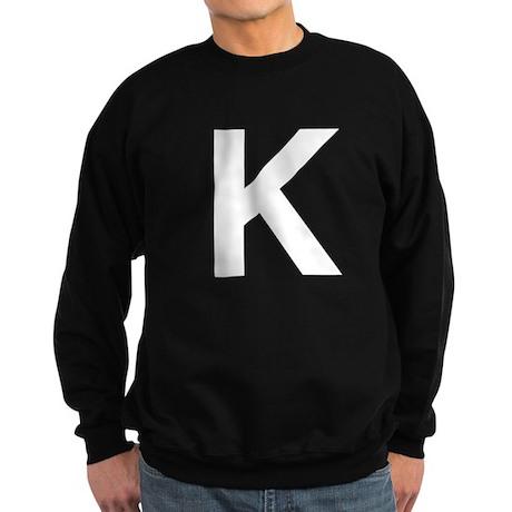 K Helvetica Alphabet Sweatshirt (dark)