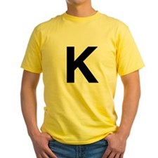 K Helvetica Alphabet T