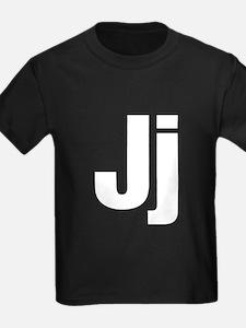 J Helvetica Alphabet T