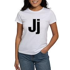 J Helvetica Alphabet Tee