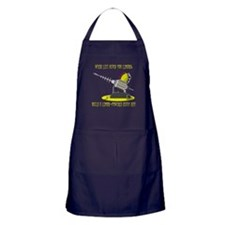 Lemon Death Ray Apron (dark)
