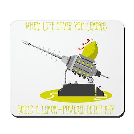 Lemon Death Ray Mousepad
