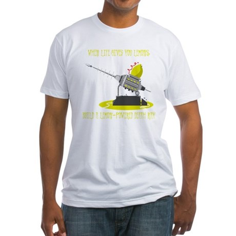 Lemon Death Ray Fitted T-Shirt