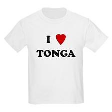 I Love Tonga Kids T-Shirt
