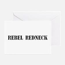 Rebel Redneck Greeting Cards (Pk of 10)