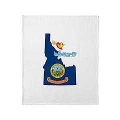 ILY Idaho Throw Blanket