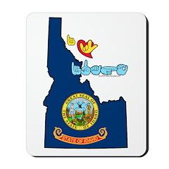 ILY Idaho Mousepad